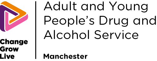 Adult and YP Drug and Alcohol Manchester logo in colour