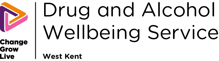 Drug and Alcohol Wellbeing Service W Kent logo