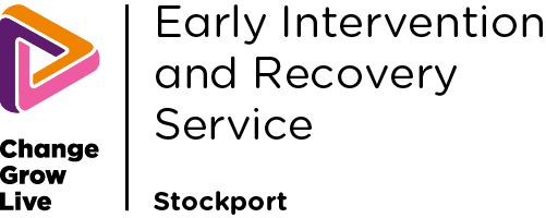 Early Intervention Recovery Stockport logo in colour