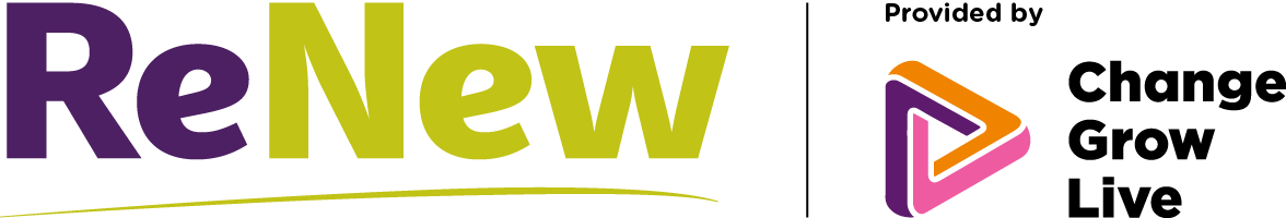 ReNew logo provided by Change Grow Live
