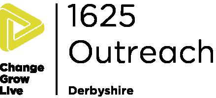 1625 Outreach Derbyshire logo in colour