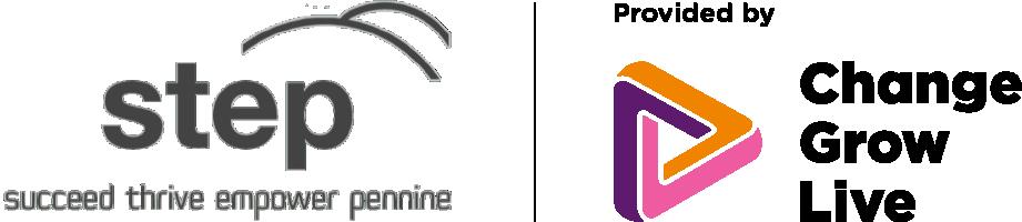Step logo in colour