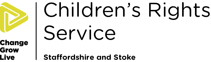 Children's Rights Staffordshire colour logo