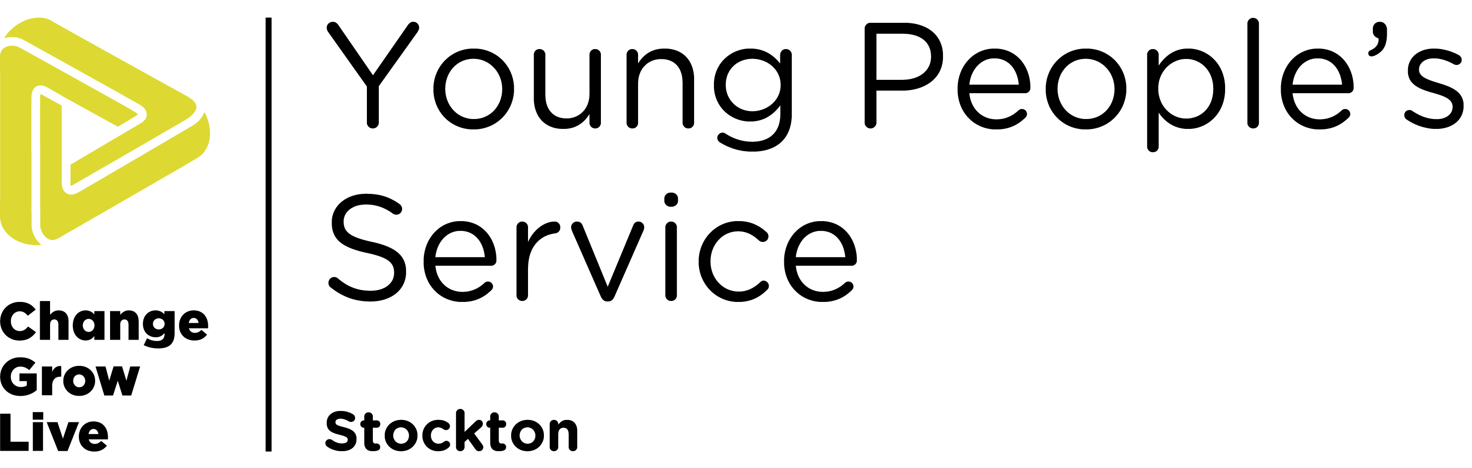 the Stockton young people's logo in colour