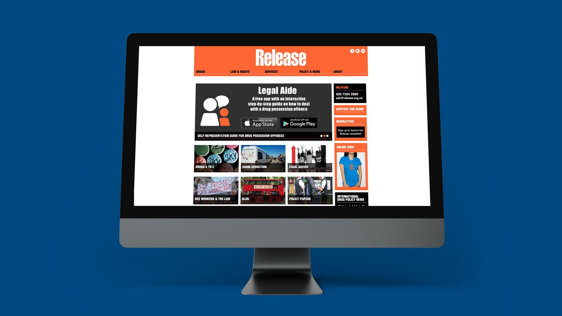 Release website