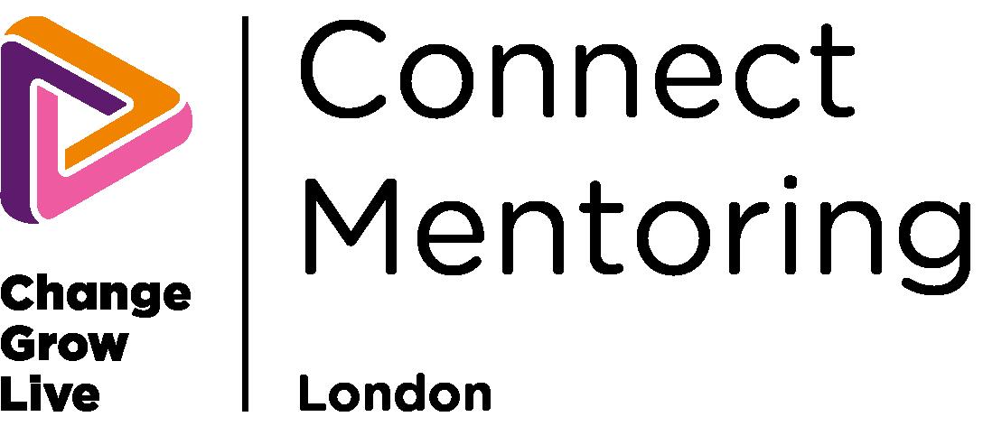 Connect Mentoring London logo in colour