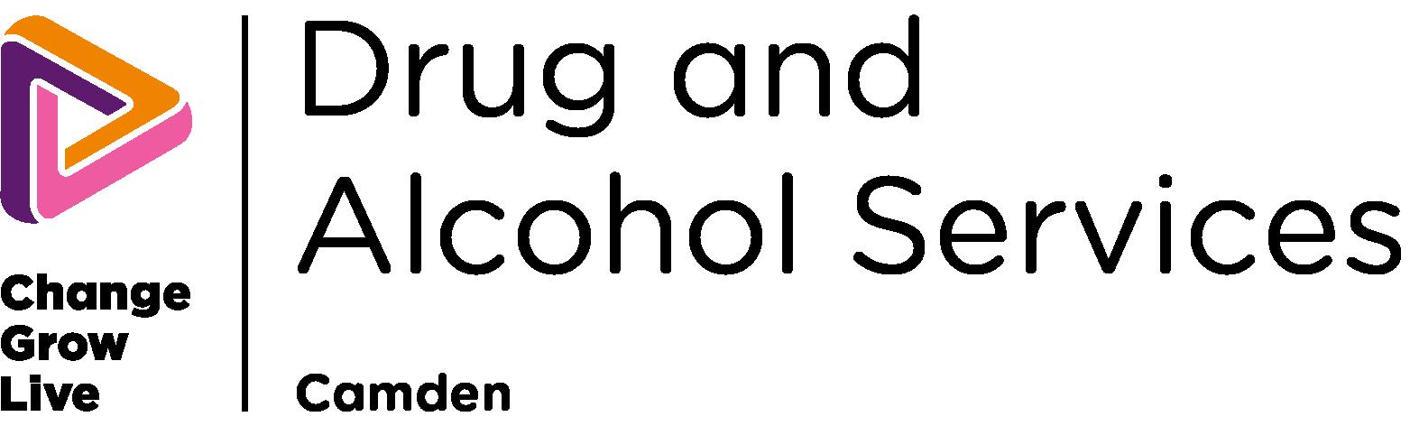 Camden drug and alcohol services logo in colour