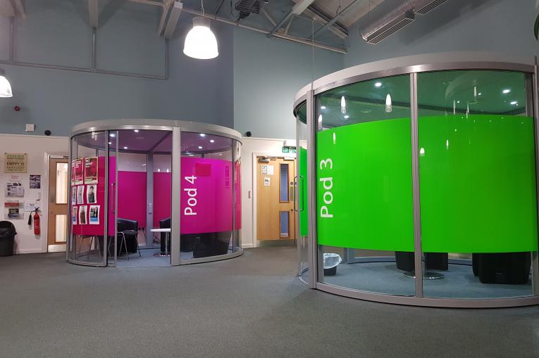 The pods in our Fleetwood service